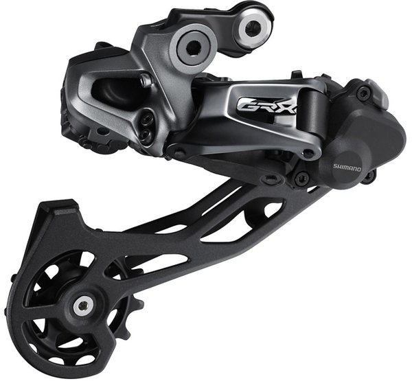Shimano GRX RX815 Di2 11-Speed Rear Derailleur Color: Black