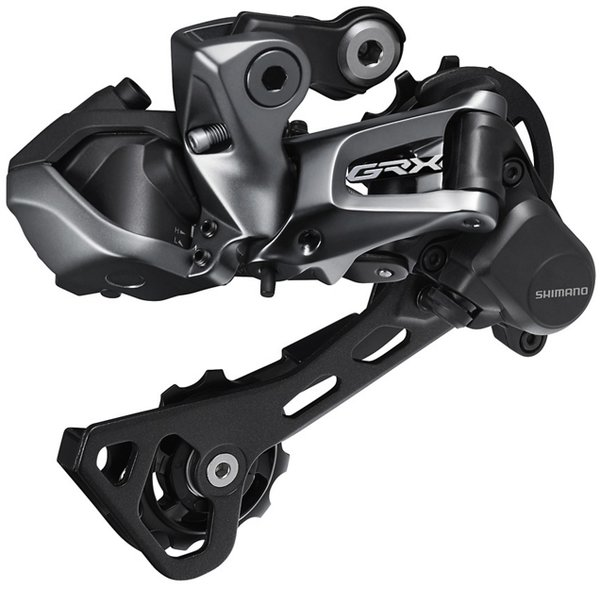 Shimano GRX RX817 Di2 11-Speed Rear Derailleur Color: Black