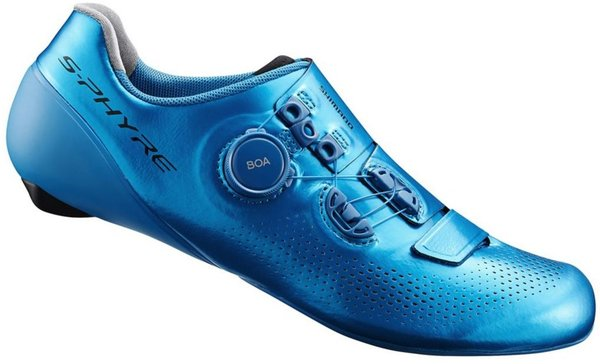 Shimano RC9T S-Phyre Shoes Color: Blue