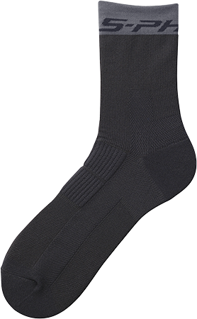 Shimano S-PHYRE Tall Socks Color: Black