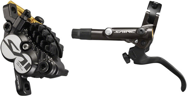 Shimano Saint BL-M820-B/BR-M820 Disc Brake and Lever Left/Right: Left
