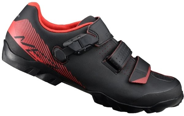 Shimano SH-ME3 Shoes Color: Black/Orange