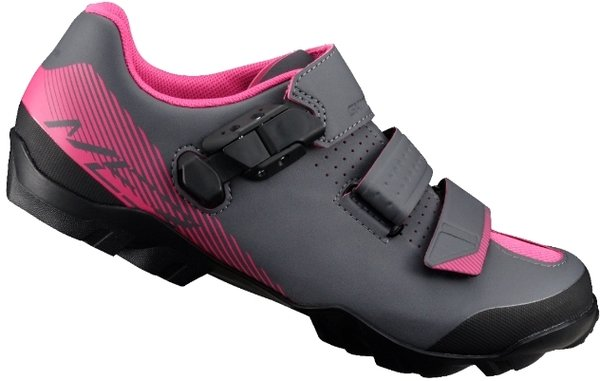 Shimano SH-ME3W Shoes Color: Black/Magenta