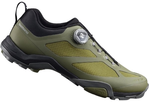 Shimano SH-MT7 Shoes Color: Olive