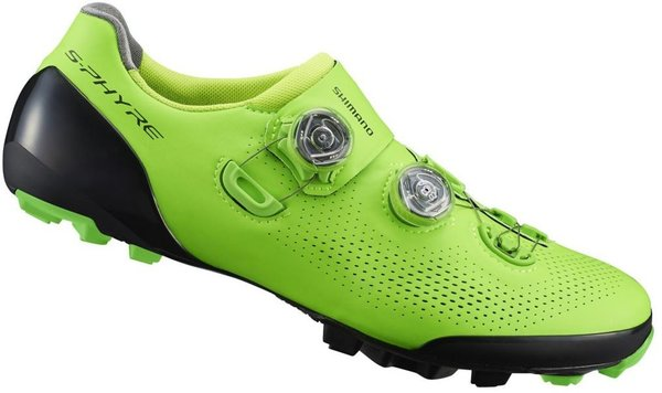 Shimano XC9 S-Phyre Shoes Color: Green