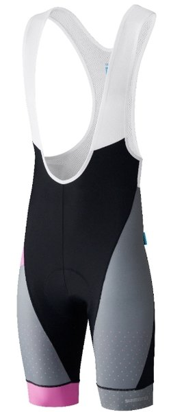 Shimano Shimano Breakaway Bib Shorts Color: Gray