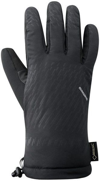 Shimano Shimano Gore-Tex Winter Gloves Color: Black