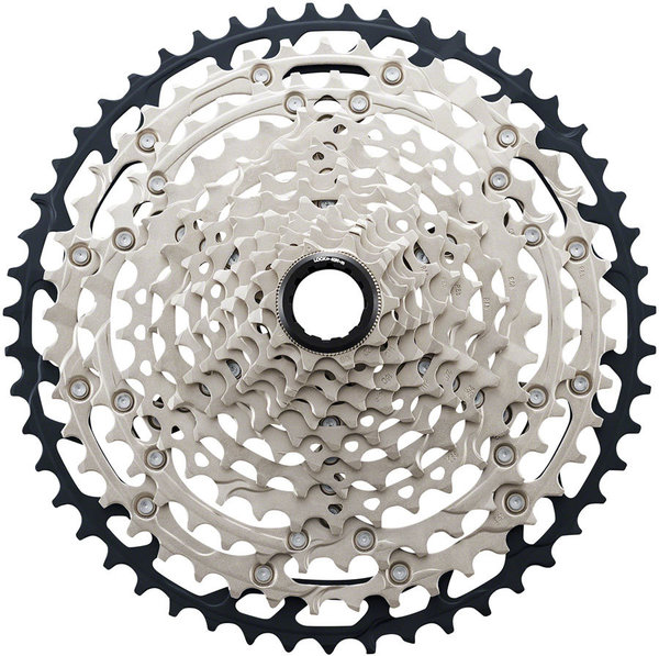 Shimano SLX M7100 12-Speed Cassette Color: Silver/Black
