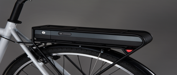 Shimano STEPS CITY E6000 Rear Carrier Battery - Wheel