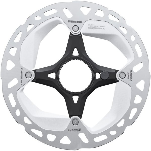 Shimano STEPS RT-EM810 Disc Brake Rotor for E-Bike Speed Sensor System Size: 160mm