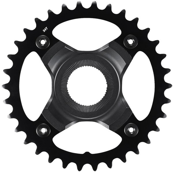 Shimano Steps SM-CRE70-B E-MTB Chainring Color: Black