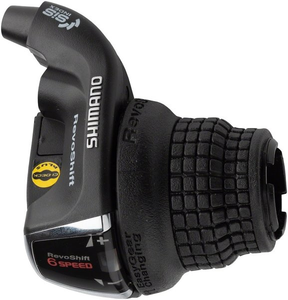 Shimano Tourney RS35 Clamp Band Twist Shifter Color: Black