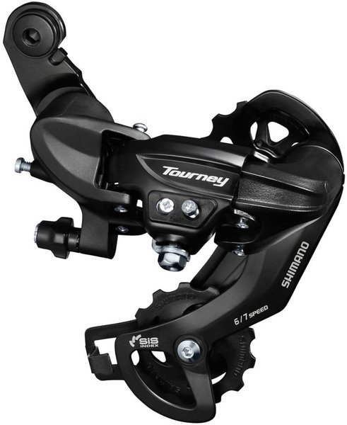 Shimano Tourney TY-300-SGS Rear Derailleur Color: Black