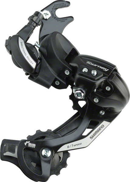 Shimano Tourney TY-500 Rear Derailleur, Rivet Mount