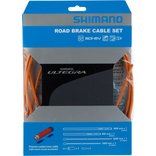 Shimano Ultegra R680 Polymer-Coated Brake Cable Set
