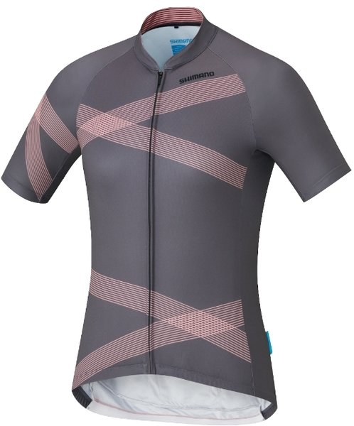 Shimano W's Team Shimano Jersey Color: Gray
