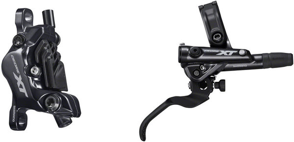 Shimano XT BL-M8100/BR-M8120 Disc Brake and Lever Left/Right: Right