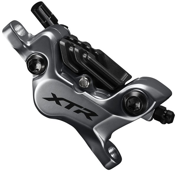 Shimano XTR BR-M9120 Enduro Ice Tech Disc Brake Caliper 4 Piston Color: Gray