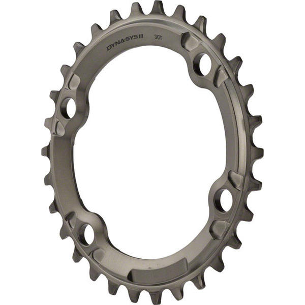 Shimano XTR M9000 Chainring BCD | Color | Size: 96mm | Gray | 30T