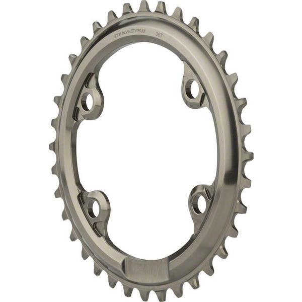 Shimano XTR M9000 Chainring BCD | Color | Size: 96mm | Gray | 36T