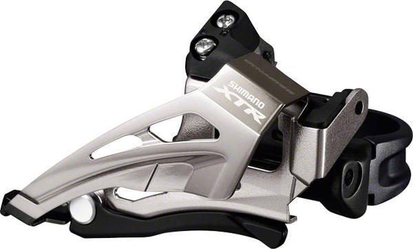 Shimano XTR Mechanical Front Derailleur (Low Clamp) Model: Top Swing/Bottom Pull (Double)