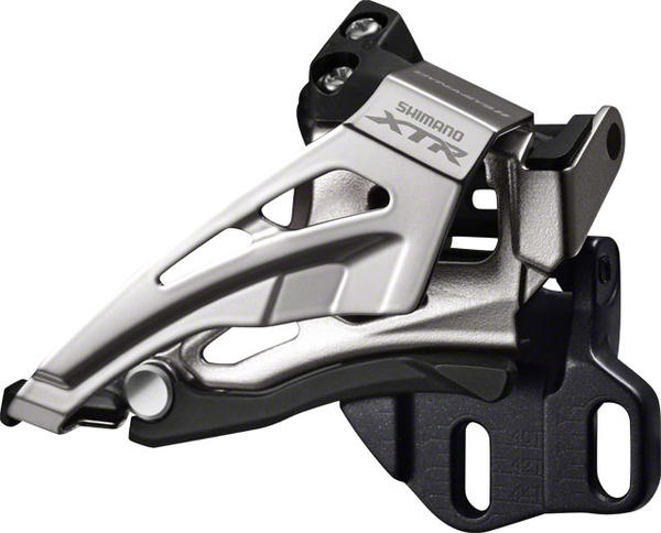 Shimano XTR Mechanical Front Derailleur (E-Type) Model: Top Swing/Bottom Pull (Double)