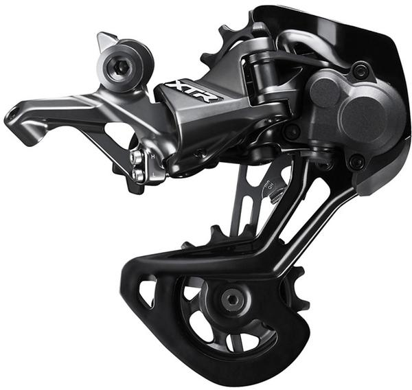 Shimano XTR RD-M9100 Rear Derailleur Cage Length | Color | Speeds: Medium Cage | Black | 11/12-speed
