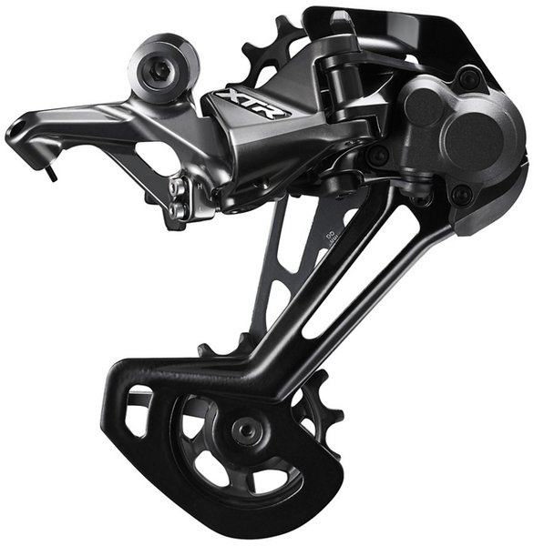 Shimano XTR RD-M9100 Rear Derailleur Cage Length | Color | Speeds: Long Cage | Black | 11/12-speed