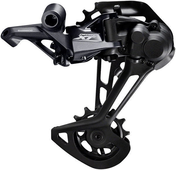 Shimano XT M8100 Rear Derailleur for 2x Drivetrains Color: Black