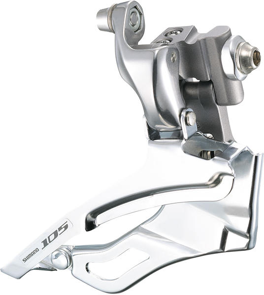 Shimano 105 Braze-On Front Derailleur Color: Silver