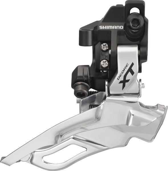 Shimano Deore XT Dyna-Sys 10-Speed Triple Front Derailleur (Down Swing, Direct Mount)