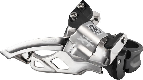 Shimano Deore XT Dyna-Sys 10-Speed Double Front Derailleur (Top Swing, Clamp-On)