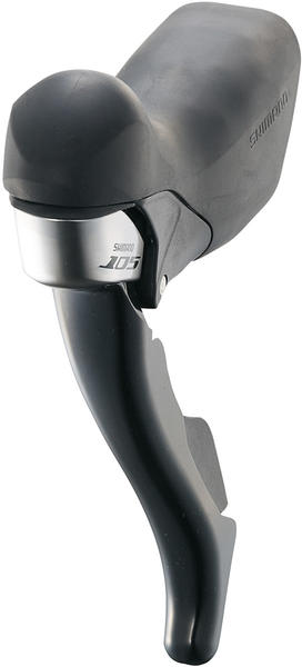 Shimano 105 Dual Control Left-Side Lever (Triple) Color: Lodestar Black