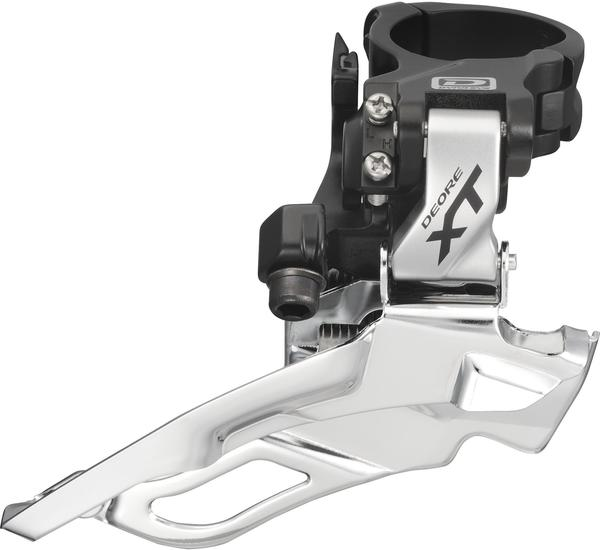 Shimano Deore XT Dyna-Sys 10-Speed Triple Front Derailleur (Down Swing, Clamp-On)