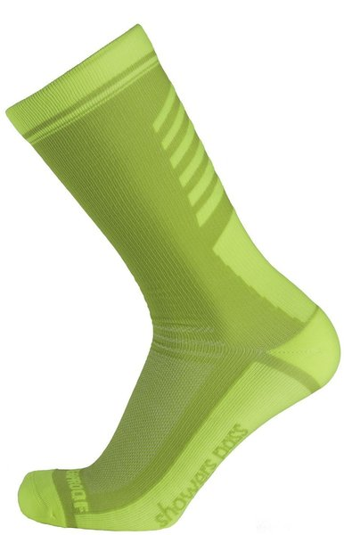 Showers Pass Lightweight Waterproof Socks - Crosspoint Brights Color: Neon