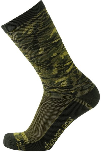 Showers Pass Lightweight Waterproof Socks - Crosspoint Camo Color: Forest Camo