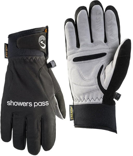 Showers Pass Men's Crosspoint Wind Gloves Color: Black