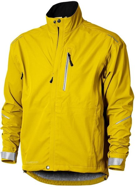 Showers Pass Men's Transit Jacket CC Color: Yelling Yellow