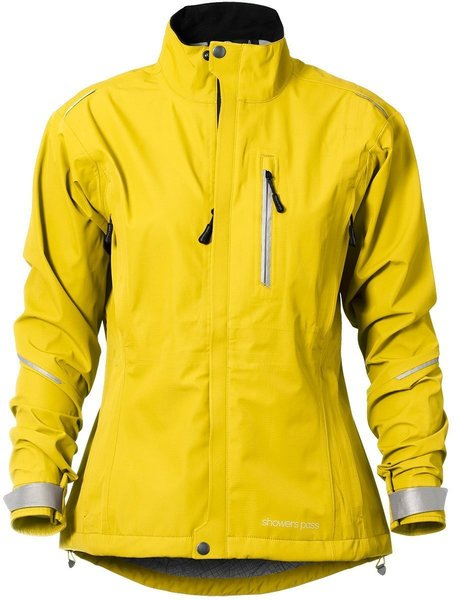 Showers Pass Women's Transit Jacket CC Color: Yelling Yellow