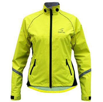 Showers Pass Women's Club Pro Jacket Color: Neon Yellow