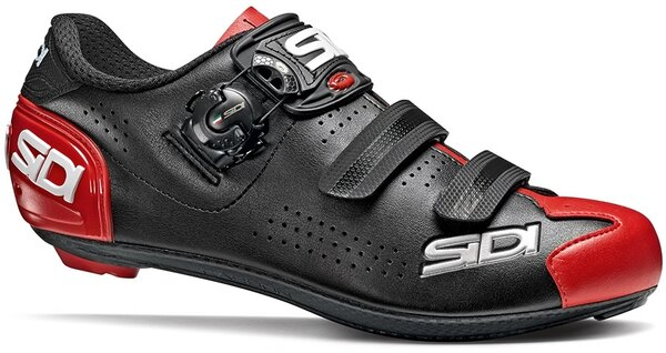 Sidi Alba 2 Road Cycling Shoes Color: Black/Red