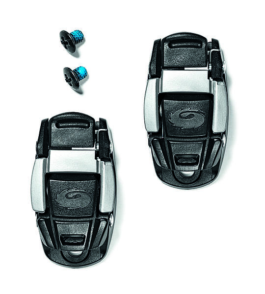 Sidi Caliper Buckle Color: Black/Grey
