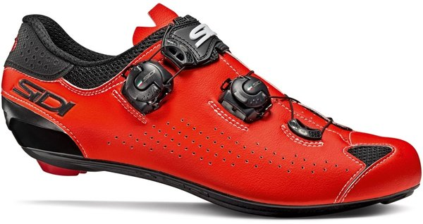 Sidi Genius 10 Color: Black/Fluorescent Red