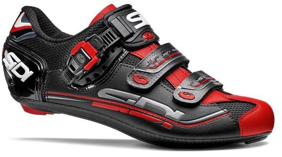 Sidi Genius 7 Black/Red Color: Black/Red