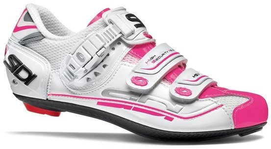 Sidi Genius 7 Women's - Pink Color: White/Pink Fluo