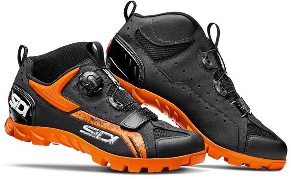 Sidi MTB Defender Color: Black/Orange