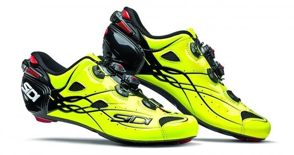 Sidi Shot Color: Black/Fluo Yellow