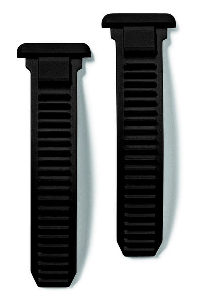 Sidi Straps For Caliper Buckle Color: Black