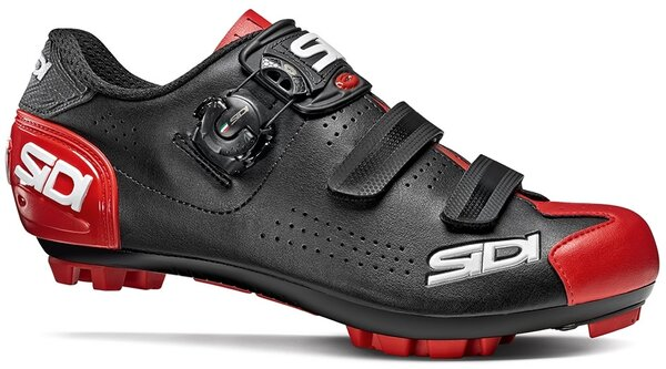 Sidi Trace 2 Mountain Bike Shoes Color: Black/Red