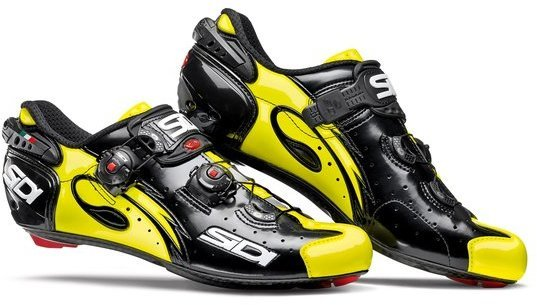 Sidi Wire Carbon Black/Yellow Fluo Color: Black/Yellow Fluo